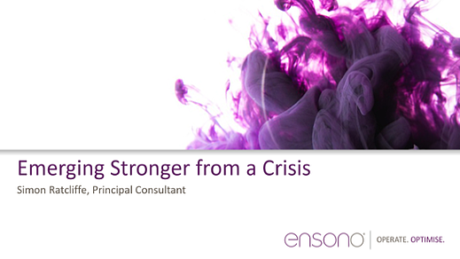 Enson0 - Emerging Stronger from a Crisis