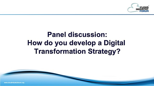 Panel - How to develop DT strategy - RUP 2510