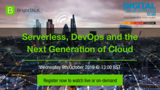 Serverless, DevOps and the Next Generation of Cloud